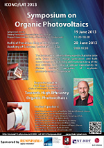 ICONO Symposium on Organic Photovoltaics